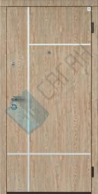 Входные Двери Саган, Серия Молдинг, Модель Al-1