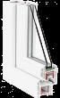 Металлопластиковое окно Rehau Brillant Design