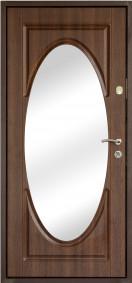 """Входные двери коллекции """"Зеркала"""" модель ZR1"""