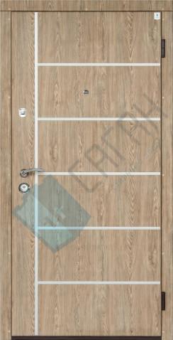 Входные Двери Саган, Серия Молдинг, Модель Al-3