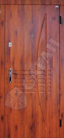 """Входные двери серии """"КЛАССИК""""  модель 107"""
