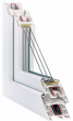 Металлоплатиковое окно Rehau SYNEGO
