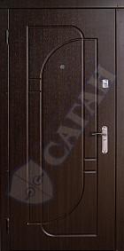"""Входные двери серии """"КЛАССИК""""  модель 118"""