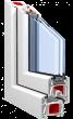 Металлопластиковое окно KBE 70 mm ST