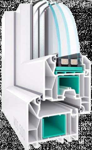 Mеталлопластиковое окно WDS 500
