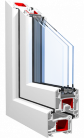 Металлопластиковое окно OSNOVA Design