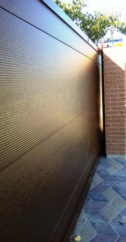 Откатные ворота ALUTECH серии ADS400  Микроволна